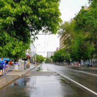 Пробы пешеходности в центре Ростова :: Вячеслав Случившийся