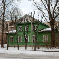 Деревянный домик в Пушкине :: Елена Гуляева (mashagulena)
