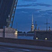Ночь. Нева. Мосты... :: Senior Веселков Петр