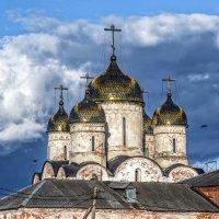 Лужецкий монастырь на закате. :: Сергей Ключарёв