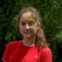 На фестивале красок Холи :: К Елена
