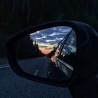 закат в зеркале :: Julia Novoselova