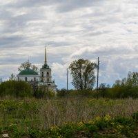 Усолье. Церковь Николая Чудотворца :: Александр Янкин