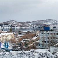Петропавловск-Камчатский. Судоремонтная верфь. :: Елена Кириллова