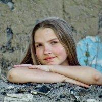 Деревенская девочка Анжела :: Светлана Рябова-Шатунова