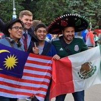 Малайзия, Мексика, Россия! Все ликуют! :: Татьяна Помогалова