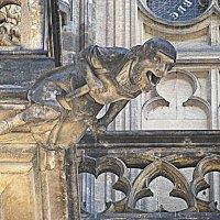 Прага. Фрагмент Кафедрального Собора. :: Владимир Драгунский