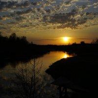 Майский закат на р.Тифина :: Andrey Photorover