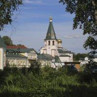 Валда́йский И́верский Богоро́дицкий Святоезе́рский монасты́рь, 16.06.13, вторая половина дня. :: Andrey Photorover