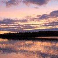 Закат на озере :: -DMS-