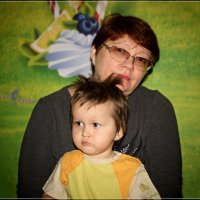 Лариса и ...сурьёзный Владик. :: Anatol Livtsov