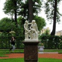 Сатир и Вакханка. Летний сад. :: Ирина ***