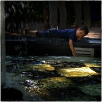 Летний сад. Мальчик и фонтан :: Станислав Лебединский