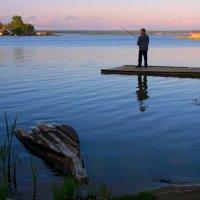 Рыбалка на закате :: Нэля Лысенко