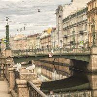 Канал Грибоедова. Вид на Вознесенский мост. :: bajguz igor