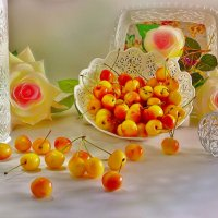 Желтая черешня :: Наталия Лыкова