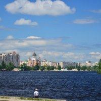 Вид на Покровский собор на Оболони :: Тамара Бедай