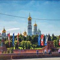 Москва к чемпионату :: Ирина Лепнёва