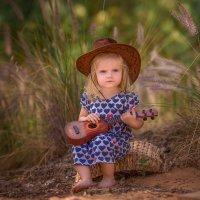 Юная гитаристка :: Elena Bebesh