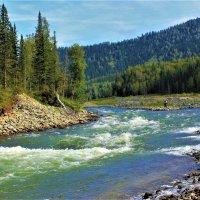 Река Уса в Алатау :: Сергей Чиняев