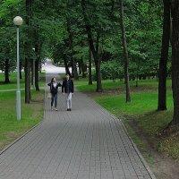 Разговор в парке :: Александр Сапунов