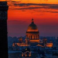 Закат над Питером :: Владимир Колесников