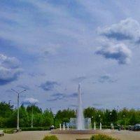 фонтан днем :: Владимир