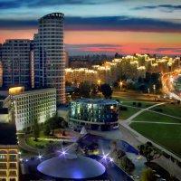 Симфония вечернего города :: Sergey-Nik-Melnik Fotosfera-Minsk