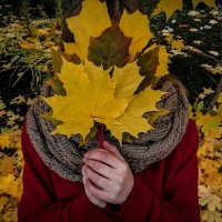 Девушка осенью :: Илья Голубков
