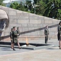 Вечный огонь-символ вечной памяти павшим :: марина ковшова