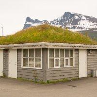 Кемпинг с интересной крышей. Норвегия. :: Инта