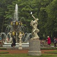 Не пущу купаться в фонтане! :: Senior Веселков Петр