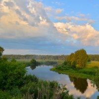 Раннее утро на реке Которосль :: Татьяна Каневская