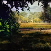 My magic Petersburg_03056_Таврический сад :: Станислав Лебединский