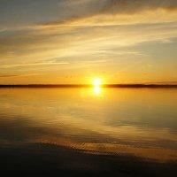 Очень красивы закаты на Белом море :: Елена Павлова (Смолова)