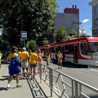 Мы поедем, мы помчимся на трамвае на Арену. Самара :: MILAV V