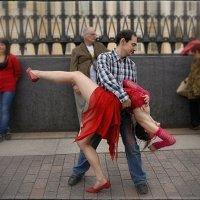 Танцы на улицах / 2 / :: Цветков Виктор Васильевич