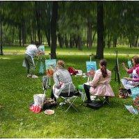 My magic Petersburg_03062 или «Рисование НЕ с натуры» :: Станислав Лебединский