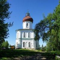 Церковь Вознесения Господня на Секирной горе :: Елена Павлова (Смолова)