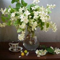 Кофе с ароматом жасмина :: Larisa Simonenkova