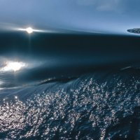 двойное отражение на воде Байкала :: Георгий