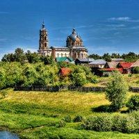 Церковь Живоначальной Троицы -Гусь-Железный :: АЛЕКСАНДР СУВОРОВ