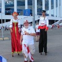 Россия приветствует английских болельщиков :: Татьяна Ломтева