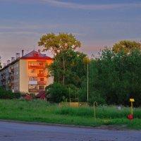 В лучах заходящего солнца :: Валерий Талашов