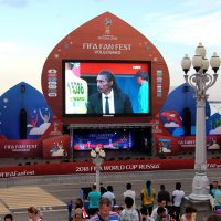 Фан-зона FIFA в Волгограде :: Dr. Olver ( ОлегЪ )