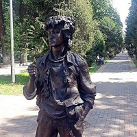 Памятник Виктору Цою :: Асылбек Айманов