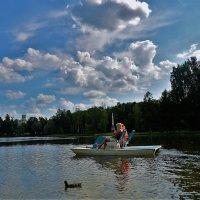 Летний день на Белом озере... :: Sergey Gordoff