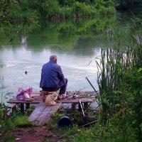 на рыбалке.. :: юрий иванов