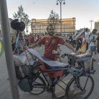 Москва. 6000 км на велосипеде из Испании на мундиаль. :: Игорь Олегович Кравченко