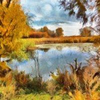 Осенний пейзаж :: Наталья Ильина